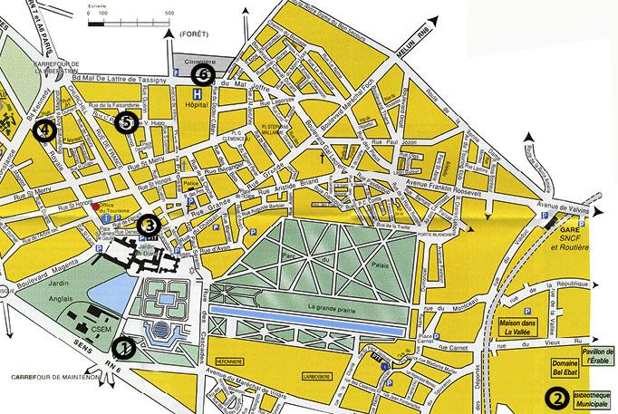 Les Amis de Milosz - Carte de Fontainebleau - Sur les pas d'O. V. de L. Milosz