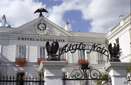 L'hôtel de l'Aigle Noir à Fontainebleau - Séjour d'O. V. de L. Milosz