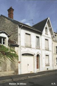 La maison d'O. V. de L. Milosz à Fontainebleau
