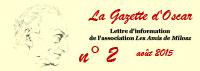 Les Amis de Milosz - La Gazette d'Oscar n°2