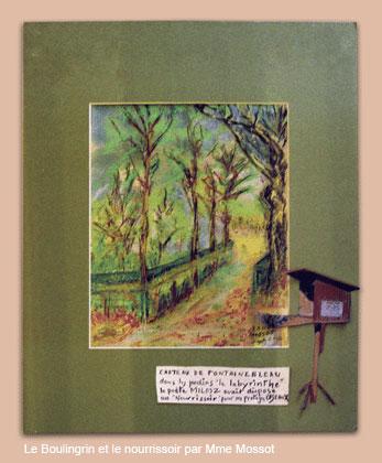 Le boulingrin - O. V. de L. Milosz et les oiseaux - Parc du château de Fontainebleau