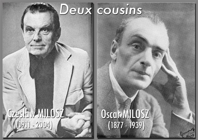 Les Amis de Milosz - Les deux Milosz