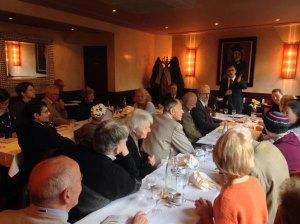 Les Amis de Milosz réunis en Assemblée Générale - Paris - Décembre 2016