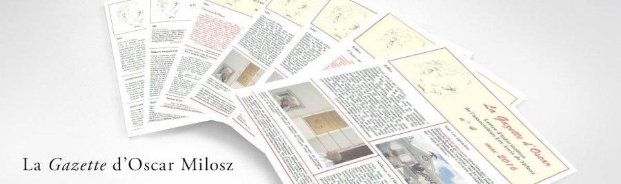 O. V. de L. Milosz - La Gazette